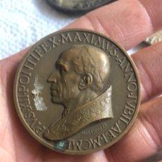 Medallas históricas: BONITA MEDALLA PAPAL ANTIGUA. Lote 194935333