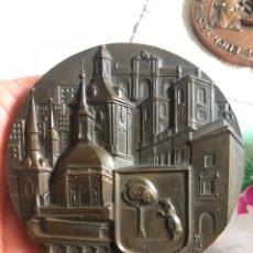 Medallas históricas: PRECIOSA MEDALLA DE LA COMUNIDAD DE MADRID, GRAN TAMAÑO. Lote 194995627