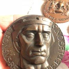 Medallas históricas: BONITA MEDALLA RECONQUISTA DE JEREZ, GRAN TAMAÑO. Lote 194995911