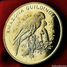 Medaglie storiche: NQ 167. PROOF. WWF 30 AÑOS. AMAZONA GUILDINGII. Lote 207939893