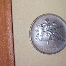 Medallas históricas: MEDALLA CONMEMORATIVA DEL SÉPTIMO CENTENARIO DEL NACIMIENTO DE DANTE. Lote 195255512