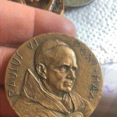 Medallas históricas: BONITA MEDALLA PAPAL POR CLASIFICAR. Lote 195261993