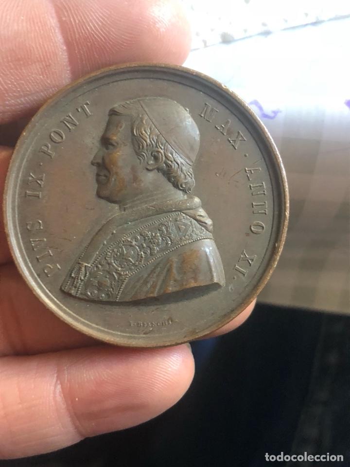 BONITA MEDALLA PAPAL POR CLASIFICAR (Numismática - Medallería - Histórica)