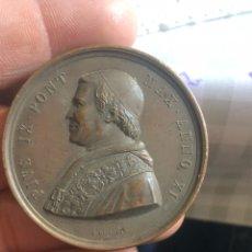 Medallas históricas: BONITA MEDALLA PAPAL POR CLASIFICAR. Lote 195262067