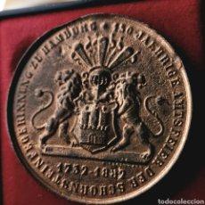 Medallas históricas: RARA. ALEMANIA, HAMBURGO, 1882. Lote 195264870