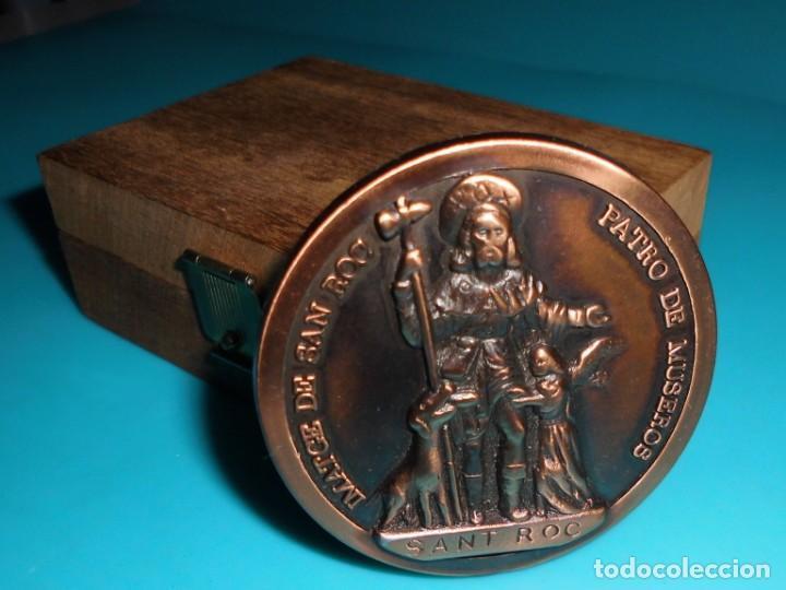 Medallas históricas: MEDALLA 300 ANYS DERMITA, SANT ROC PATRO DE MUSEROS - Foto 4 - 195329203