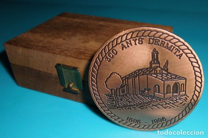 Medallas históricas: MEDALLA 300 ANYS DERMITA, SANT ROC PATRO DE MUSEROS - Foto 5 - 195329203