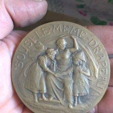 Medallas históricas: BONITA MEDALLA FRANCESA ANTIGUA POR CLASIFICAR. Lote 195415395