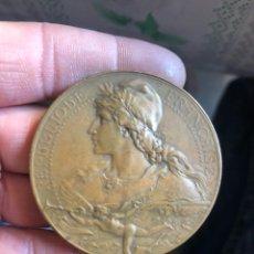 Medallas históricas: BONITA MEDALLA FRANCESA ANTIGUA POR CLASIFICAR. Lote 195416671