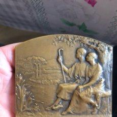Medallas históricas: BONITA MEDALLA FRANCESA ANTIGUA POR CLASIFICAR. Lote 195417205