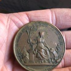 Medallas históricas: BONITA MEDALLA BELGA ANTIGUA POR CLASIFICAR. Lote 195418292