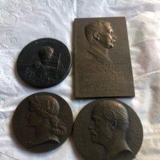 Medallas históricas: MAGNIFICO LOTE DE 4 MEDALLAS FRANCESAS POR CLASIFICAR. Lote 195418606