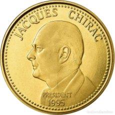 Medallas históricas: FRANCIA, MEDALLA, JACQUES CHIRAC, ELECTIONS PRÉSIDENTIELLES, 1995, SC, BRONCE. Lote 195489751