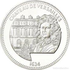 Medallas históricas: FRANCIA, MEDALLA, LES JOYAUX DE PARIS, CHÂTEAU DE VERSAILLES, 2014, FDC, PLATA. Lote 195507565