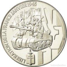 Medallas históricas: FRANCIA, MEDALLA, 1939-1945, LIBÉRATION DE LA FRANCE JANVIER 1945, FDC, COBRE -. Lote 195513328