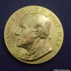 Medallas históricas: MEDALLA JUAN PABLO II EN VENEZUELA. DE A. CONSONNI. RENUEVA TU FE. JOANNES PAULUS II PONT MAX. Lote 195627871