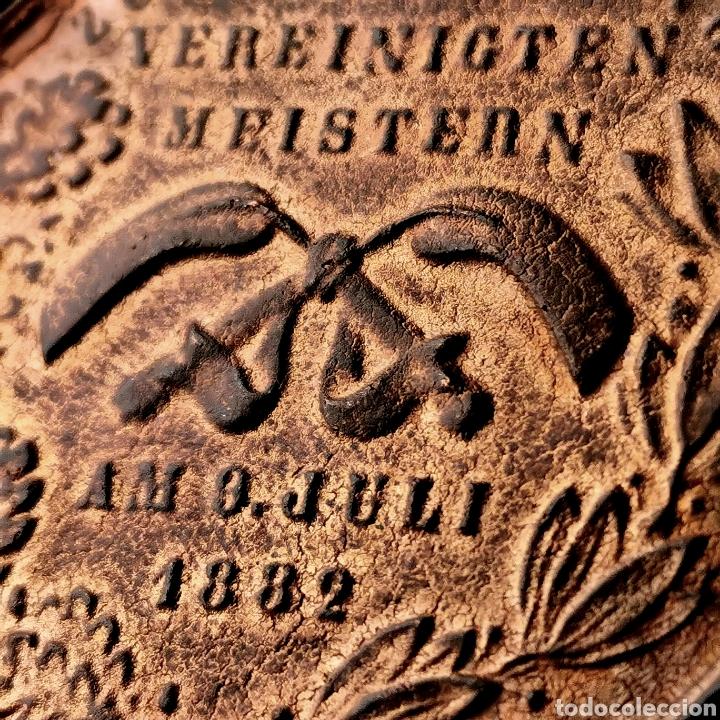 Medallas históricas: 03B. RARA. Alemania, Hamburgo, 1882 - Foto 6 - 195264870
