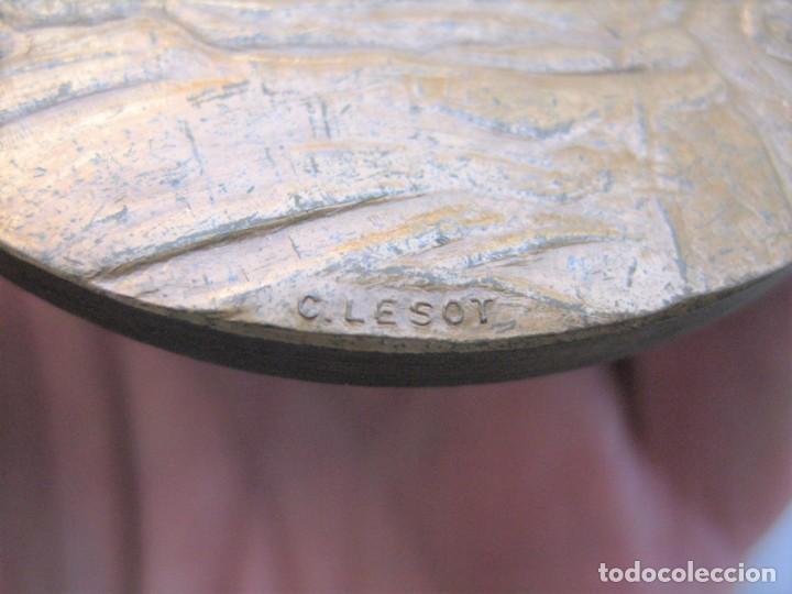 Medallas históricas: MEDALLA DE BRONCE 1966 FIRMADA C. LESOT, DEDICADA A FRANCOIS BOUCHER, PINTOR ROCOCÓ 1703-1770 - Foto 8 - 196141275