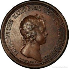 Médailles historiques: FRANCIA, MEDALLA, LOUIS XIV, PRISE DE TORTOSA, HISTORY, 1648, MAUGER, EBC+. Lote 197758247