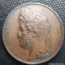 Medallas históricas: MEDALLA FRANCIA LOUIS PHILIPPE I - ROI DES FRANCAIS ÉCOLE GRATUITE DE DESSIN 1 AVRIL 1830 BRONCE. Lote 197785266