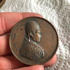 Medallas históricas: MAGNIFICA MEDALLA DEL PAPA LEON XII, ORIGINAL. Lote 197827568
