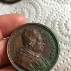 Medallas históricas: MAGNIFICA MEDALLA DEL PAPA CLEMENTE XI ORIGINAL. Lote 197828261