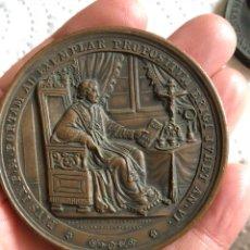 Medallas históricas: MAGNIFICA MEDALLA DEL PAPA PÍO IX, ORIGINAL. Lote 197828565