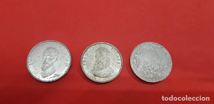 MEDALLAS ALUMINIO CONQUISTADORES (Numismática - Medallería - Histórica)