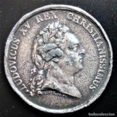Medallas históricas: MEDALLA CASAMIENTO 1770 LUDOVICUS XV LUIS XV. Lote 198018075