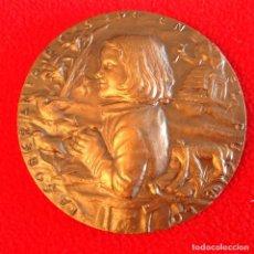 Medallas históricas: MEDALLA CONSTITUCIÓN PARA ESPAÑA 1978, FNMT 1979, ESCULTOR, JULIO LÓPEZ HERNÁNDEZ, 80 MM. PRECIOSA.. Lote 198216087