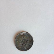 Medallas históricas: ANTIGUA FICHA O MEDALLA HIJO DE LA SOCIEDAD ELENA , OVALADA, SANTA ELENA. Lote 199169657