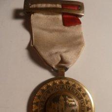 Medallas históricas: MEDALLA DAMASQUINADA AYUNTAMIENTODE BILBAO FINALES XIX. Lote 199367822