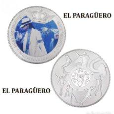 Medallas históricas: MEDALLA TIPO MONEDA PLATA ( ANIVERSARIO DE MICHAEL JACKSON REY DEL POP ) - PESO 33 GRAMOS - Nº2. Lote 199432248
