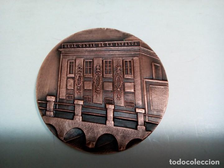 Medallas históricas: * MEDALLA 150 ANIVERSARIO REAL CANAL DE LA INFANTA.1819-1969 (RF:M-33/*) - Foto 2 - 199460917