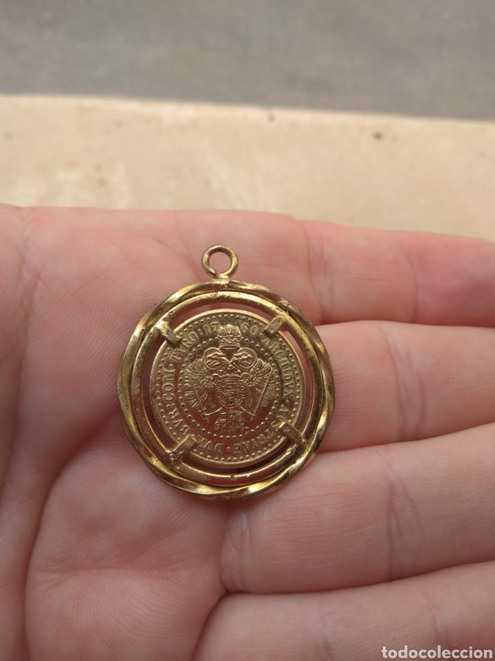 Medallas históricas: Colgante con Moneda Maria Theresia - Austria 1760 - Foto 5 - 45833999