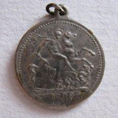 Medallas históricas: MEDALLA EDWARDVS VII D.G.BRITT CORONATION COIN 1909. DIAM. 2 CM. Lote 199997436