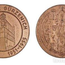 Medallas históricas: MEDALLA ALEMANIA, CIUDAD DE COLONIA. Lote 200660567