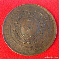 Medallas históricas: MEDALLA DEL CENSO DE LA CIUDAD DE BUENOS AIRES DE 1887, BRONCE, 55 MM., BUEN EJEMPLAR. VER FOTOS. Lote 200740203