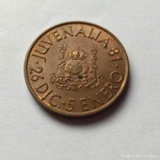 Medallas históricas: ## MEDALLA DE JUVENALIA 1981 ##. Lote 201155037