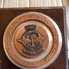 Medallas históricas: BONITA MEDALLA DE LA BOTADURA DEL PORTAVIONES PRINCIPE DE ASTURIAS. Lote 201550546