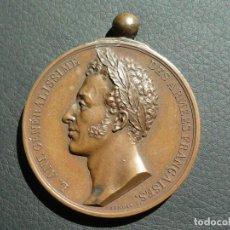 Médailles historiques: MEDALLA FERNANDO VII 1823 REGRESO A PARIS APROX 5 CM , 64 GR. Lote 202593928