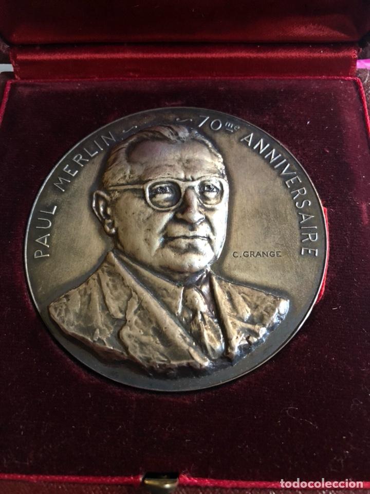 MAGNIFICA MEDALLA FRANCESA A CLASIFICAR, PLATA (Numismática - Medallería - Histórica)