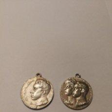 Medallas históricas: MEDALLAS ALFONSO XIII DE PLATA. Lote 203809788