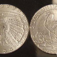 Medallas históricas: INDIAN HEAD - CABEZA INDIA - 1 / 10 MONEDA DE PLATA FINA - NUEVA. Lote 203854926