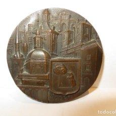 Medalhas históricas: MEDALLA FERNANDO DE JESUS MADRID 1966 FNMT, EN BRONCE,REGALADA. Lote 204603112