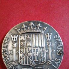 Medallas históricas: PRIMEROS REYES DE TODAS LAS ESPAÑAS JOANA Y CAROLUS. Lote 205083788