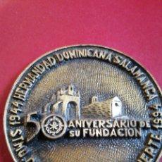 Medallas históricas: SANTÍSIMO CRISTO DE LA BUENA MUERTE 1994 HERMANDAD DOMINICANA SALAMANCA. Lote 205084330