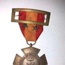 Medallas históricas: MEDALLA DE LOS PEREGRINOS ESPAÑOLES A LOURDES EN LOS AÑOS 50. Lote 205373258