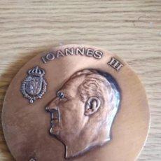 Medallas históricas: MEDALLA IOANNES III DEI GRATIA JUAN CARLOS I REY DE ESPAÑA. Lote 205391985