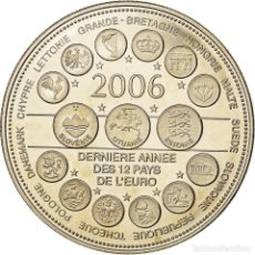 Medallas históricas: FRANCIA, MEDALLA, L'EUROPE DES XXV, DERNIÈRE ANNÉE DES 12 PAYS DE L'EURO. Lote 205611341